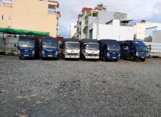 Dịch vụ cho thuê xe tải chở hàng tại Quận 12