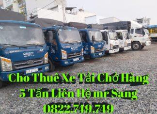 Cho thuê xe tải chở hàng tại huyện Cần Giờ