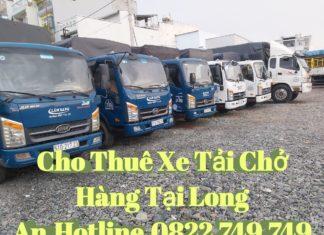 Cho thuê xe tải chở hàng tại Long An