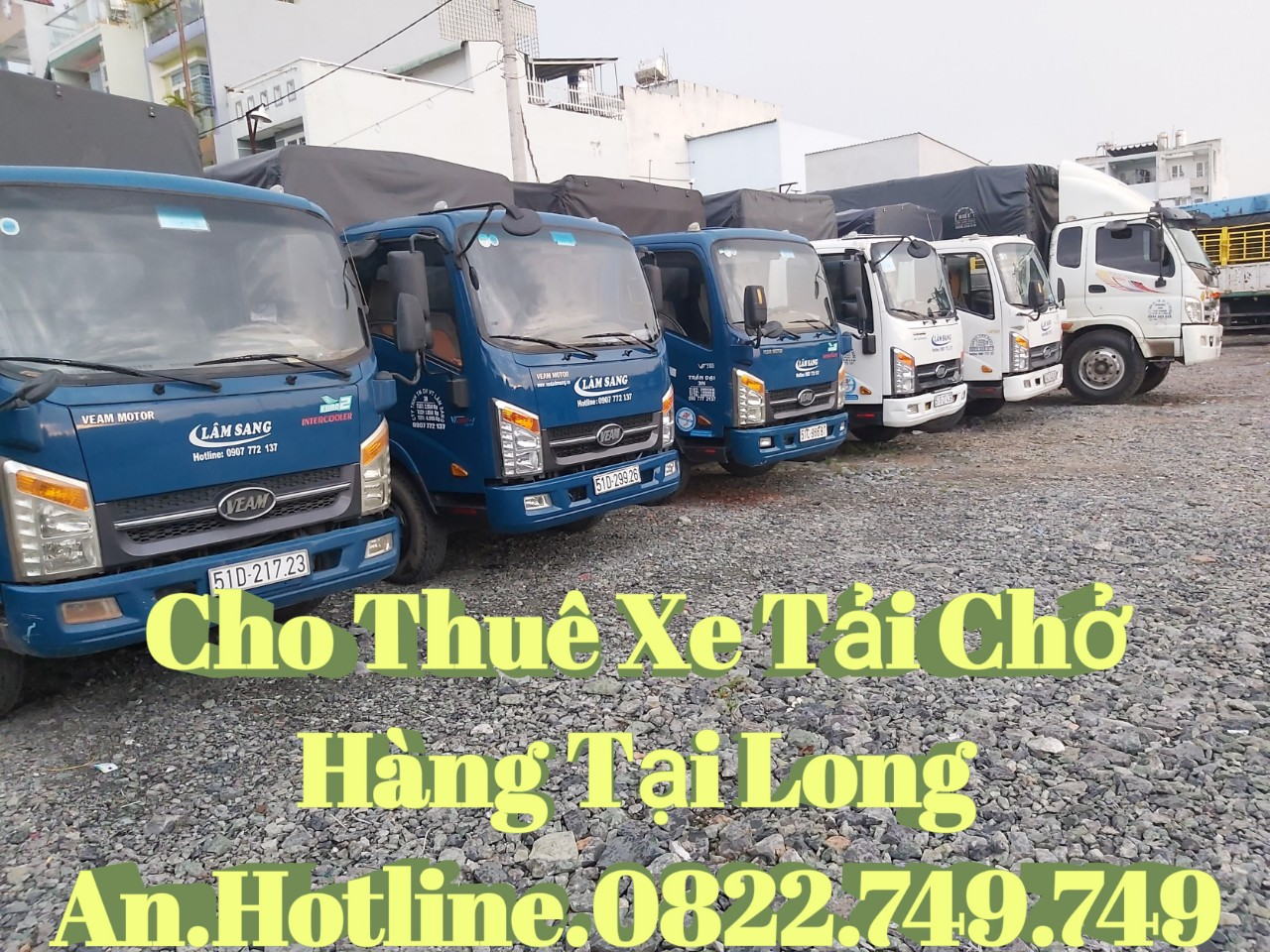 Cho thuê xe tải Chuyển nhà trọn gói Quận Bình Tân 0822.749.749
