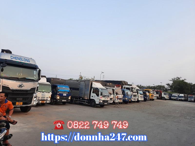 Bảng giá xe tải chở hàng giá rẻ tại tphcm