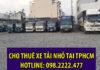 Chở hàng thuê xe tải nhỏ tại công ty vận tải Lâm Sang