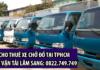 Thuê xe chở đồ ở đâu tại tphcm uy tín - Donnha247