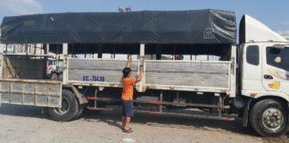 Chuyên cho thuê xe tải chở hàng giá rẻ - Vận Tải Lâm Sang