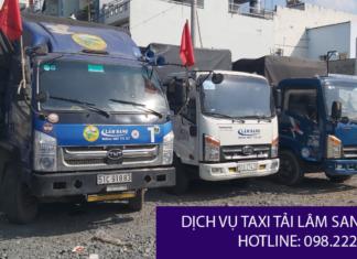 Taxi tải Lâm Sang quận 2 uy tín và giá rẻ