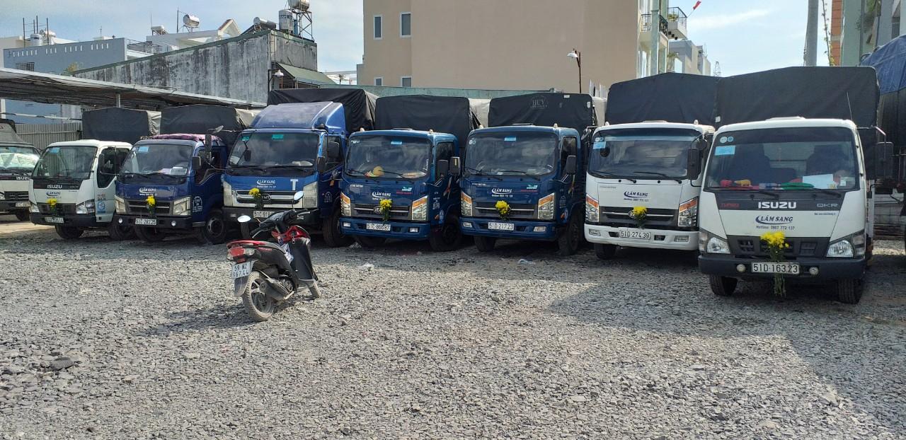 Cho thuê xe tải theo ngày giá cực rẻ tại TPHCM