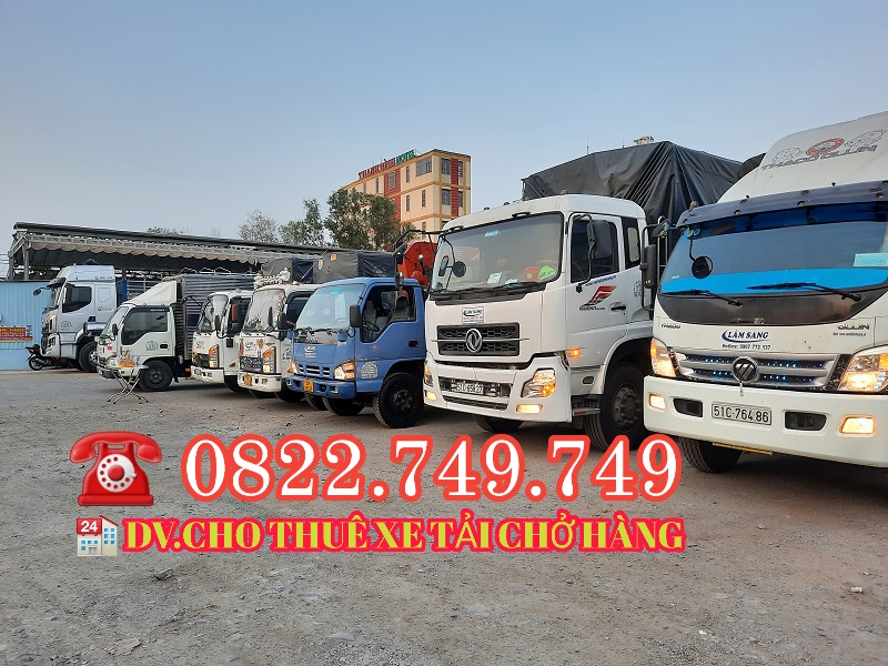 Công ty nào tại tphcm cho thuê xe tải giá rẻ?