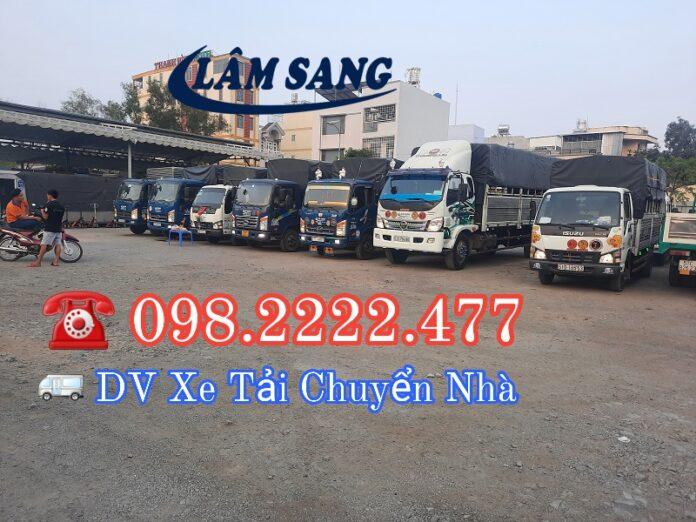 Dịch vụ cho thuê xe tải chở hàng tại tphcm và các tình thành lân cận