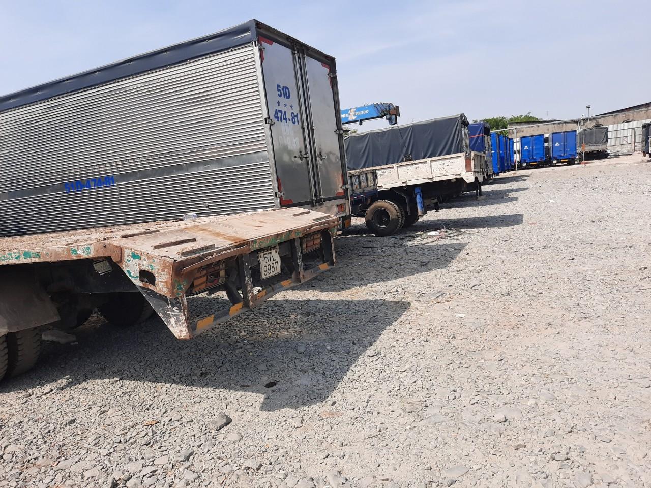 Cho thuê xe tải vận chuyển hàng hoá đi tỉnh từ TPHCM