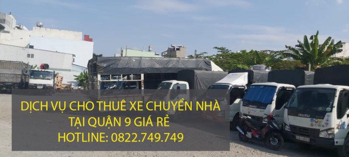 Dịch vụ cho thuê xe tải chuyển nhà Quận 9 – Công ty vận tải Lâm Sang