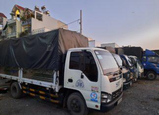 Kích thước thùng xe tải 500kg đến 850kg