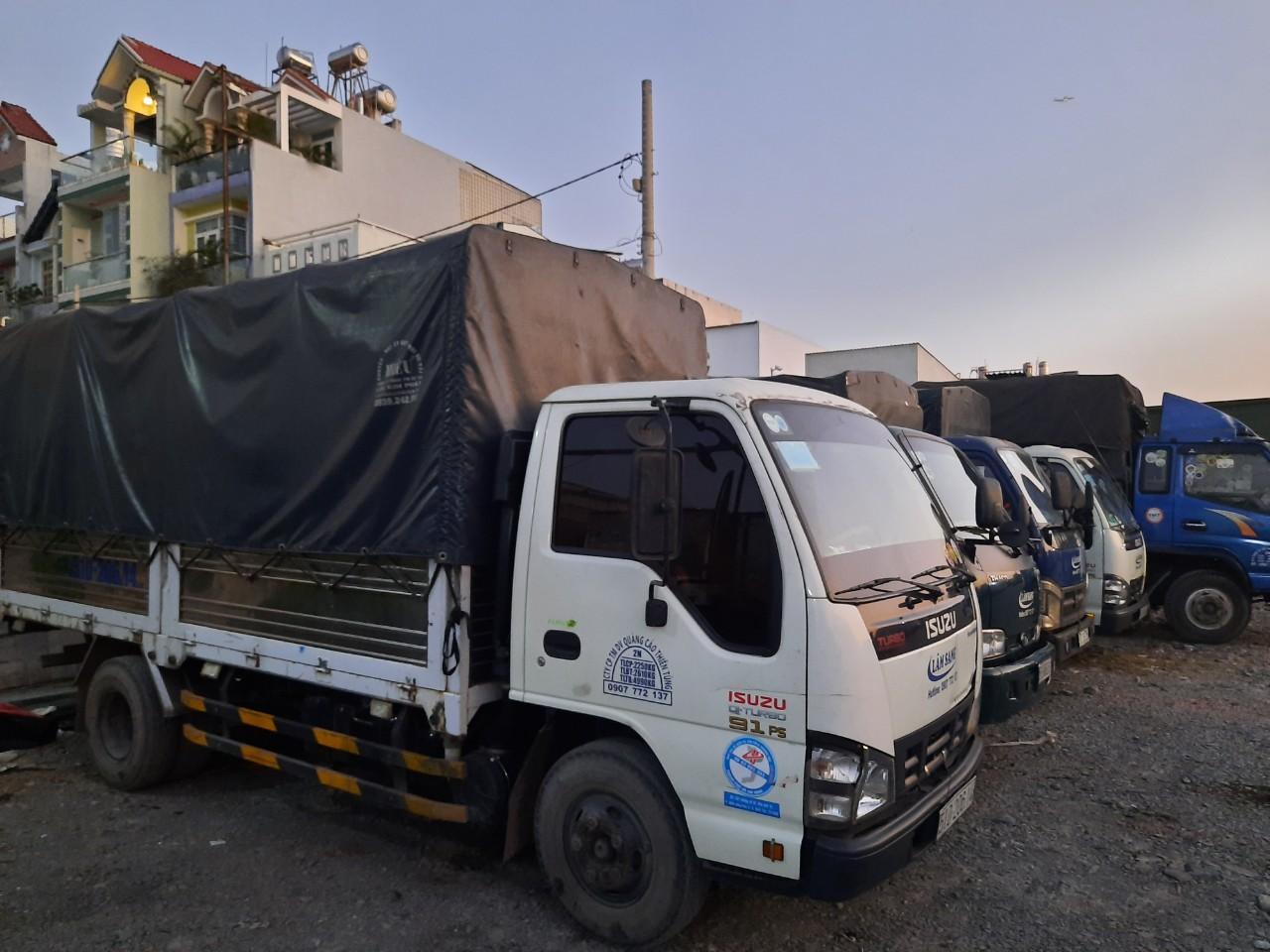 Dịch vụ cho thuê xe tải giá rẻ và uy tín
