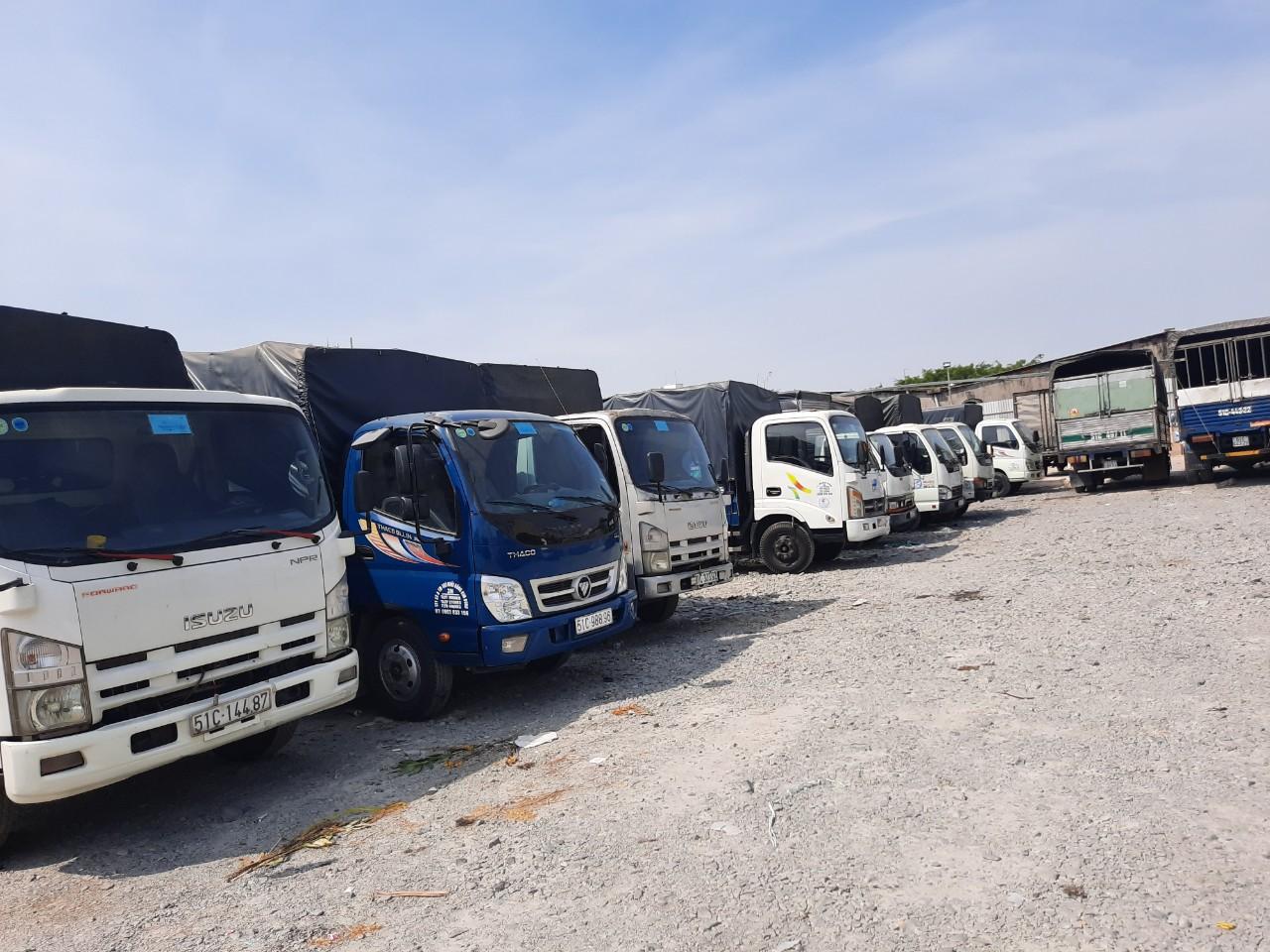 Xe tải chuyển nhà Quận 6 giá rẻ - công ty vận tải Lâm Sang