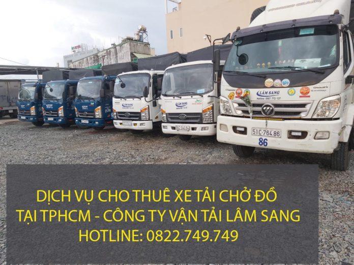 Xe tải chở đồ chuyển nhà tại 24 Quận khu vực TPHCM – Vận tải Lâm Sang