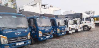 Dịch vụ vận chuyển hàng hoá và cho thuê xe tải chở hàng giá rẻ tại TPHCM