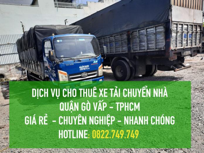 Cho thuê xe tải chuyển nhà giá rẻ Quận Gò Vấp – Vận tải Lâm Sang