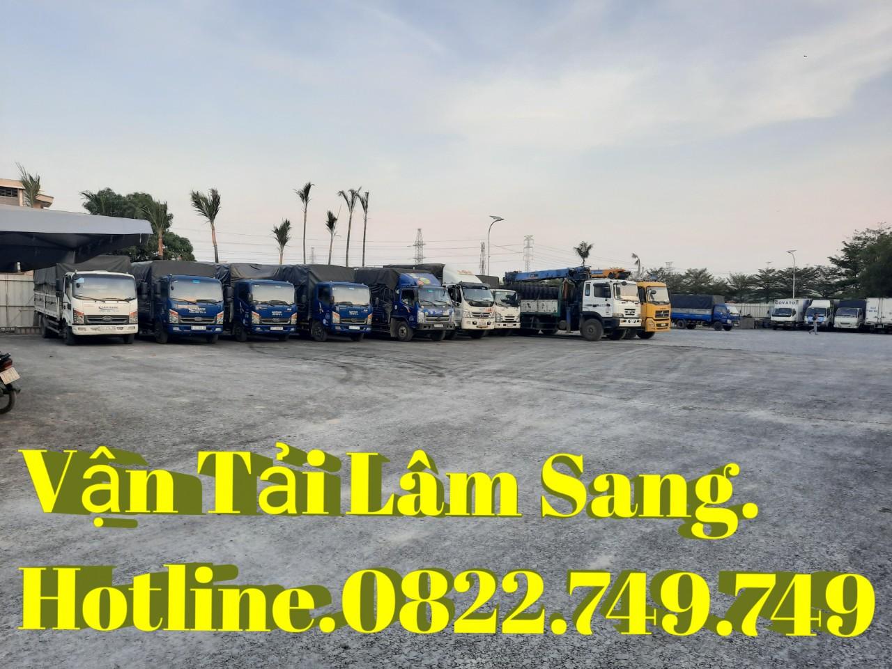 Công ty vận tải Lâm Sang chuyên nhận chở hàng hóa từ 1 tấn đến 10 tấn