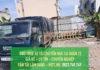 Dịch vụ cho thuê xe tải chuyển nhà Quận 12 giá rẻ - uy tín