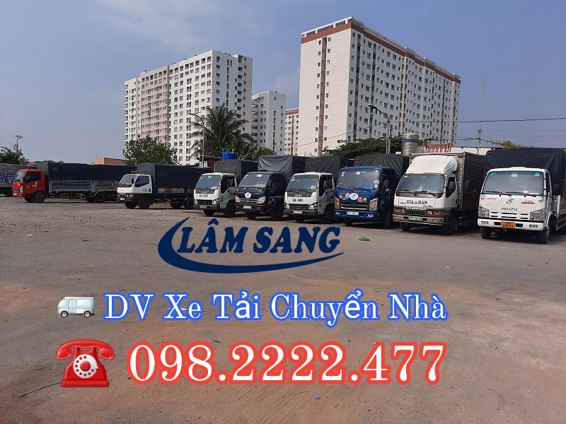Xe tải chuyển dọn nhà trọn gói giá rẻ và uy tín