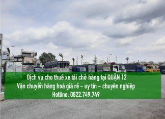 Xe tải chở hàng tại Quận 9 – Vận chuyển hàng hoá
