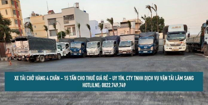 Dịch vụ cho thuê xe tải chở hàng 4 chân [ xe 15 tấn ] giá rẻ
