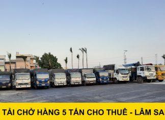 Xe tải 5 tấn cho thuê giá rẻ tại TPHCM – Vận tải Lâm Sang