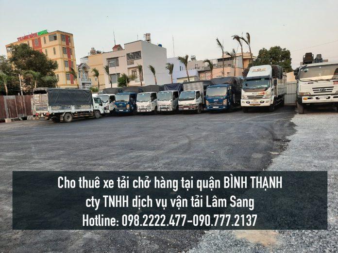 Xe tải chở hàng tại Quận Bình Thạnh – Vận chuyển hàng hoá