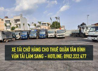 Xe tải chở hàng tại Quận Tân Bình – vận chuyển hàng hoá