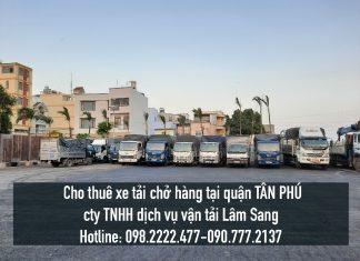 Xe tải chở hàng tại Quận Tân Phú – Vận chuyển hàng hoá