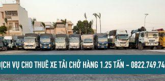 Xe tải chở hàng xe tải 1.25 tấn giá rẻ [ Vận tải Lâm Sang ]