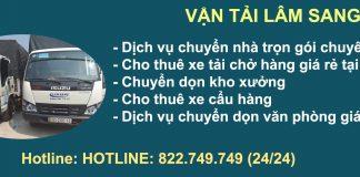 Chuyển Nhà – Văn Phòng Trọn Gói Tại Quận Bình Tân