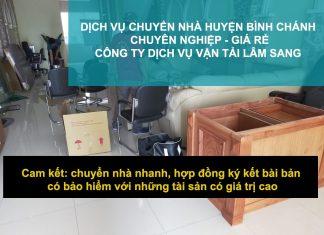 Dịch Vụ Chuyển Nhà Trọn Gói – Văn Phòng Giá Rẻ Huyện Bình Chánh