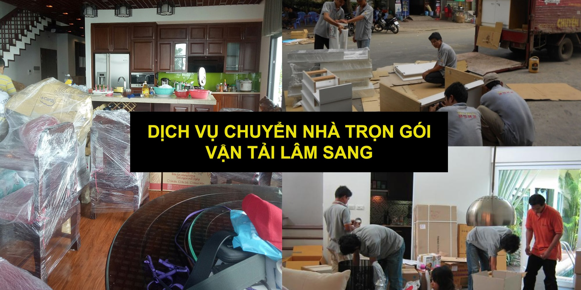 Dịch vụ chuyển nhà trọn gói Lâm Sang tại TPHCM