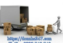 Dịch vụ cho thuê xe tải chuyển nhà Quận 10