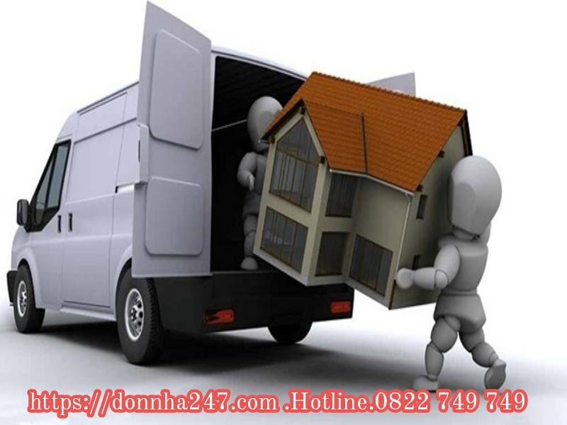 Xe Tải Chở Hàng KCX Tân Thuận Quận 7 - TPHCM