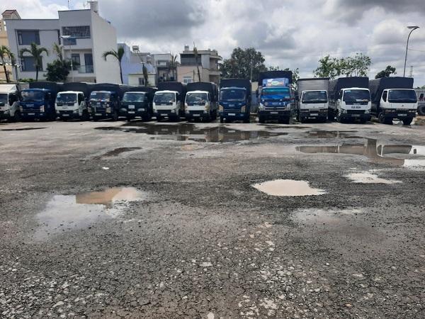 Cho thuê xe tải chở hàng nội thành Sài Gòn