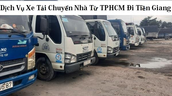 Dịch Vụ Xe Tải Chuyển Nhà Từ TPHCM Đi Tiền Giang