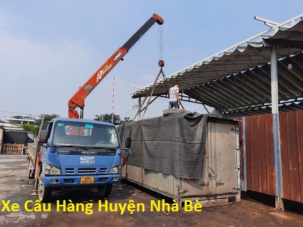 Xe Cẩu Hàng Huyện Nhà Bè