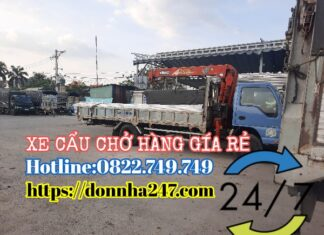 Xe Cẩu Hàng Quận Tân Phú