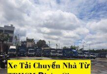 Xe Tải Chuyển Nhà Từ TPHCM Đi An Giang