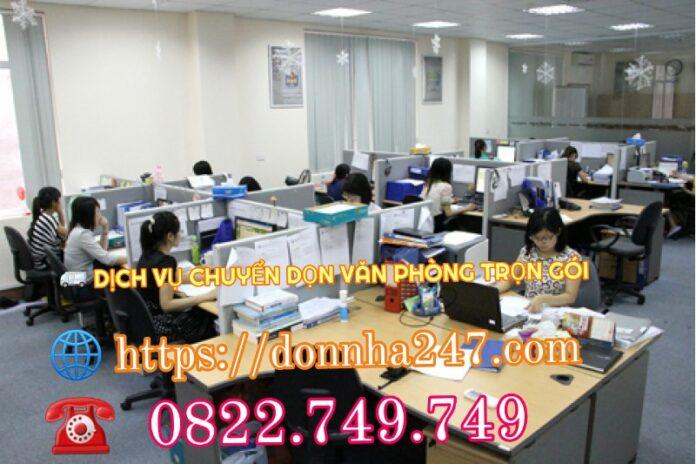 Chuyển văn phòng trọn gói TPHCM