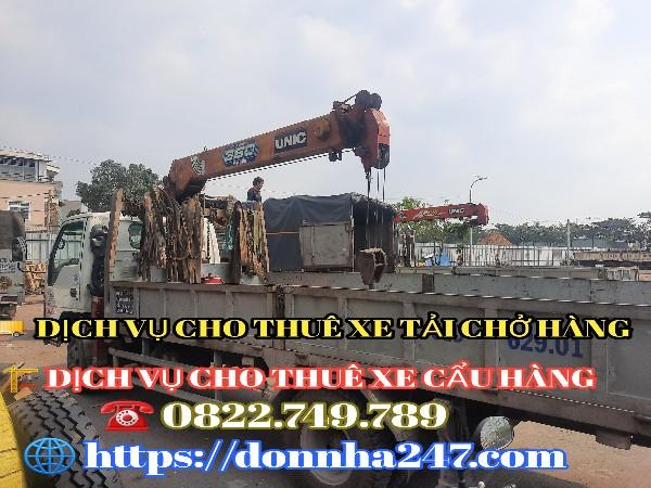 Dịch vụ xe cẩu TPHCM
