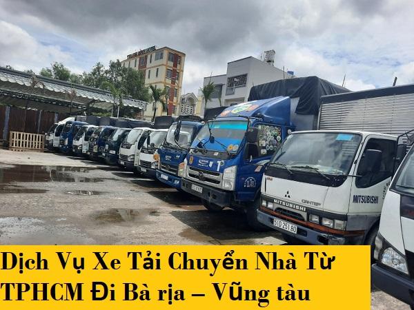 Dịch Vụ Xe Tải Chuyển Nhà Từ TPHCM Đi Bà rịa – Vũng tàu