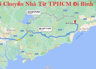 Xe Tải Chuyển Nhà Từ TPHCM Đi Bình Thuận