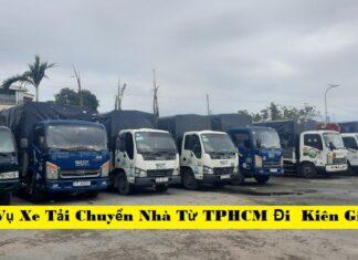 Dịch Vụ Xe Tải Chuyển Nhà Từ TPHCM Đi Kiên Giang