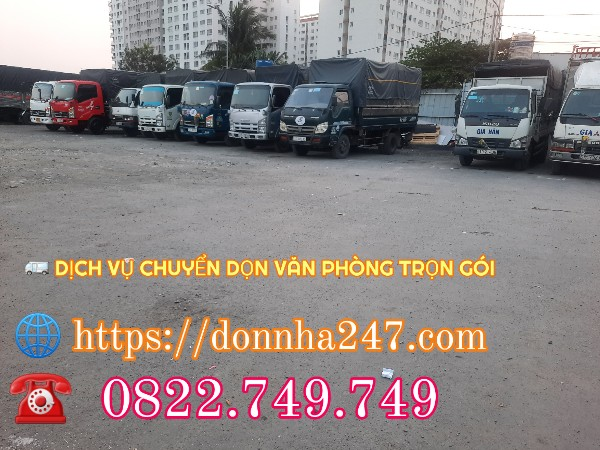 Dịch Vụ Xe Tải Chuyển Nhà Từ TPHCM Đi Quảng Bình