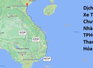 Dịch Vụ Xe Tải Chuyển Nhà Từ TPHCM Đi Thanh Hóa