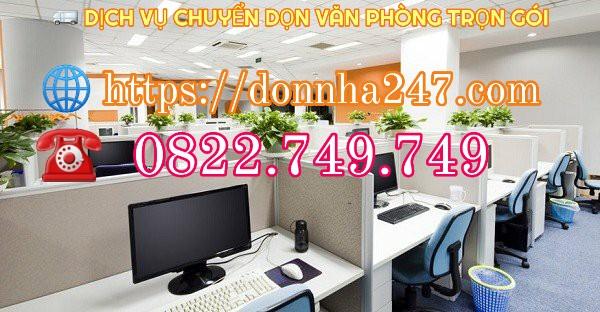 DV Chuyển văn phòng trọn gói TPHCM