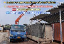 Thuê xe cẩu giá rẻ Tại TPHCM