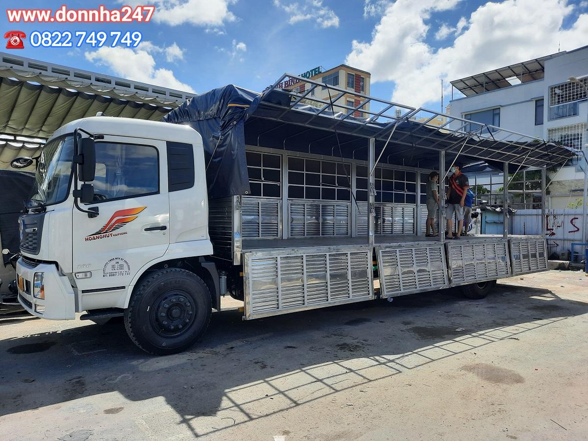 Cho Thuê xe tải 8 tấn vận chuyển hàng đi tỉnh